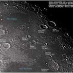 Fotografía del noreste de la Luna el 24/04/08