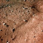 Suelo del Polo Norte de Marte fotografiado por la sonda Phoenix