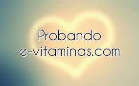 Probando e-vitaminas.com